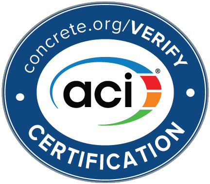 American Concrete Institute Certification (ACI)
