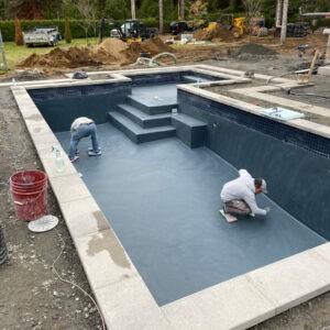 Construction de piscine et de spas en béton projeté