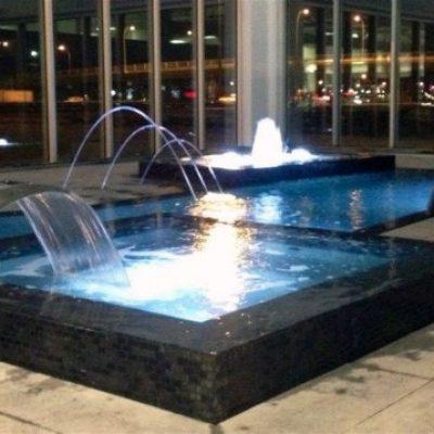Fontaine d'eau commerciale